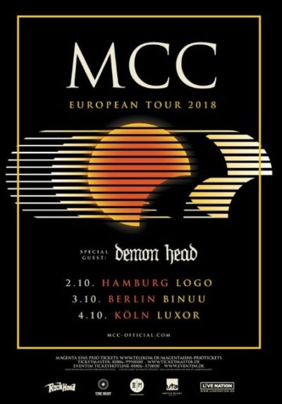 MCC Tour 2018