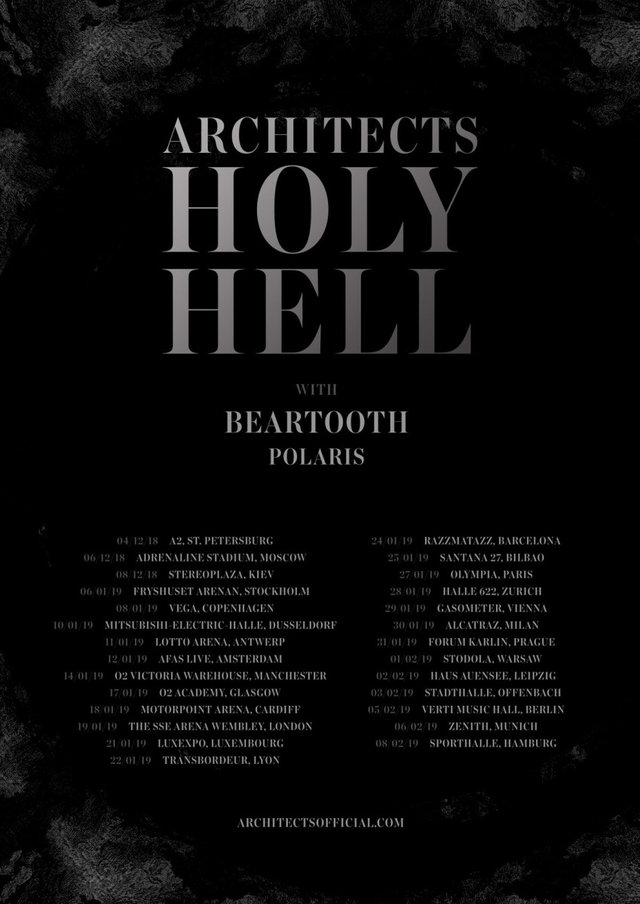 Architects - Holy Hell Tour 2019