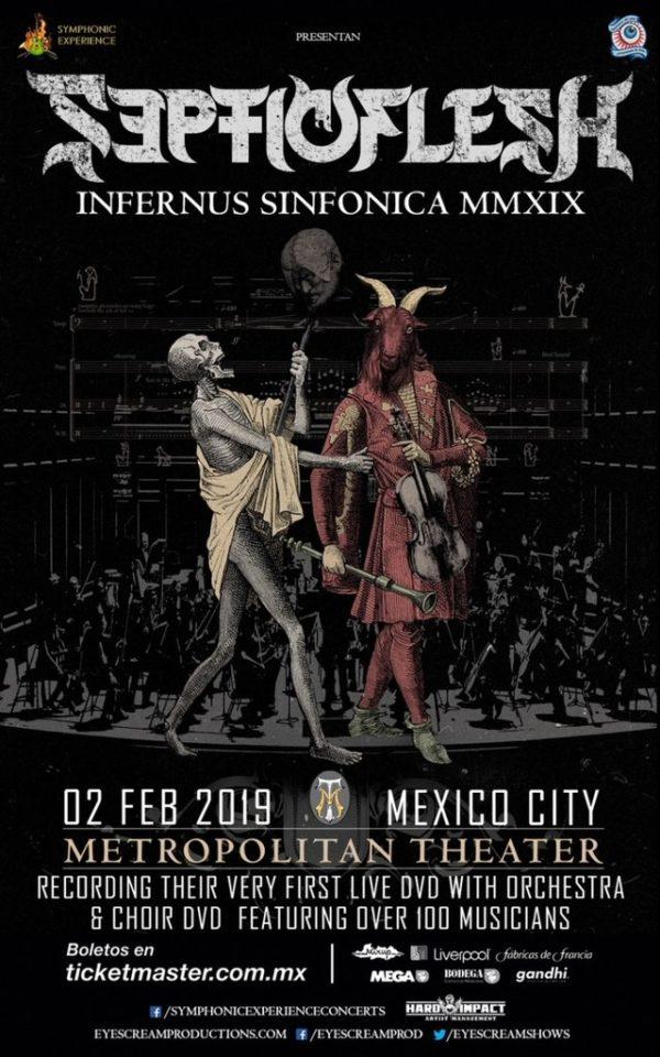 Bild Septicflesh - Infernus Sinfonica MMXIX Poster