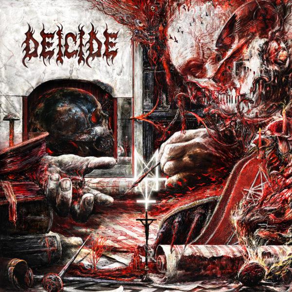 """Cover Artwork von """"Overtures Of Blasphemy"""" von DEICIDE"""