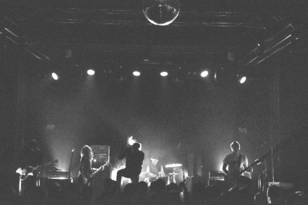 Deafheaven bei ihrem Auftritt im Beatpol Dresden 2018.