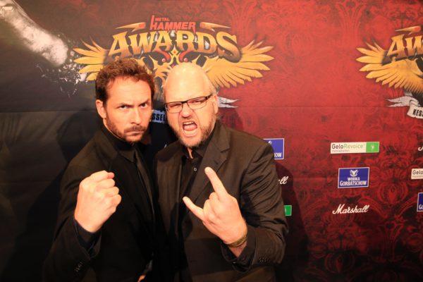 Bild: Gernot Krebs und Thorsten Zahn (Fotorechte: Metal Hammer)