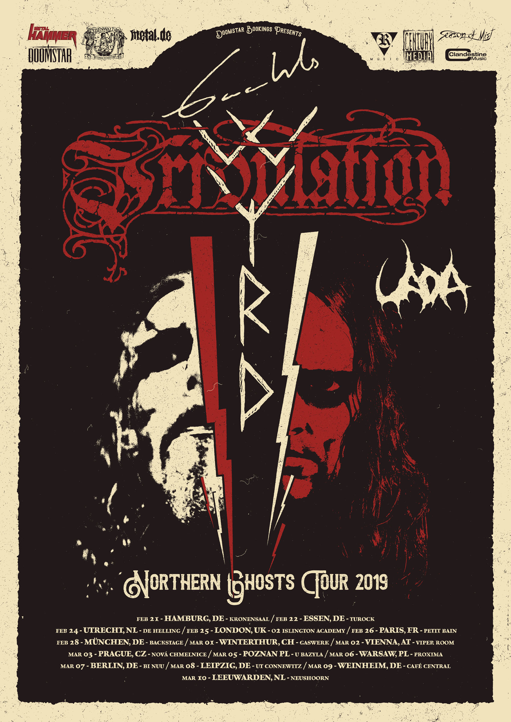 Gaahls Wyrd Tribulation Uada 2019