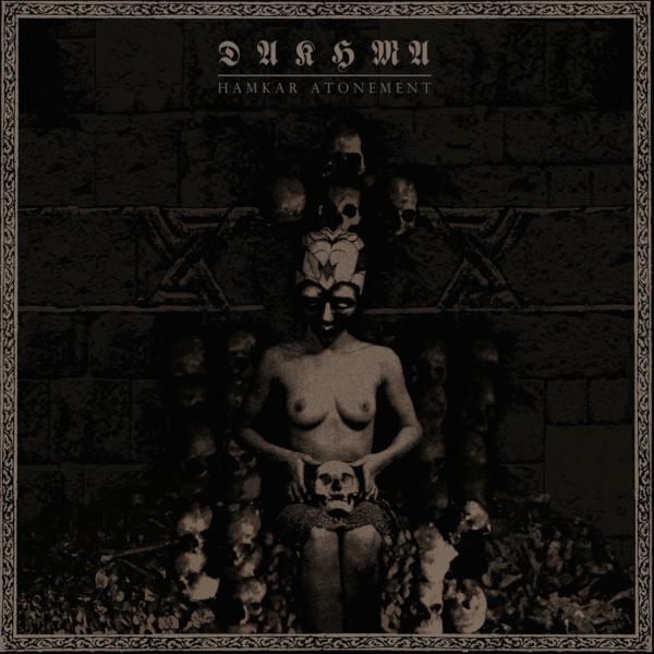 Cover Artwork Dakhma Hamkar Atonement Album 2018