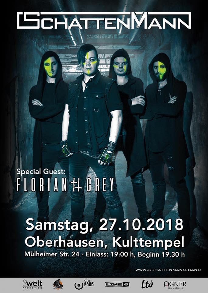 Schattenmann - Erste Headliner Show mit kompletten Debütalbum