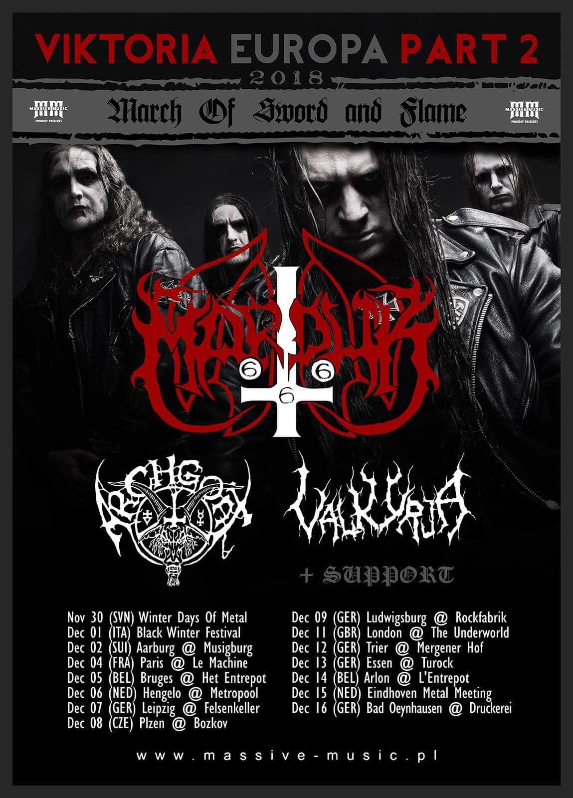 Marduk - VIKTORIA EUROPA 2018 Part II