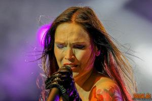 "Fotos von Tarja auf der ""A Nordic Symphony""-Tour 2018"