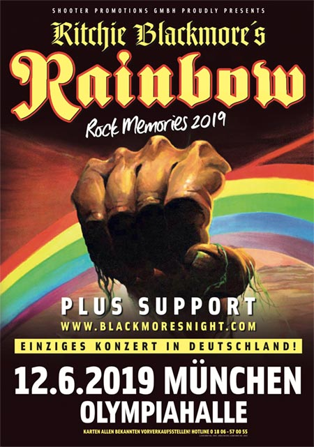 Ritchie Blackmore´s Rainbow - Rock Memories 2019