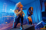 Fotos von Butcher Babies auf der Female Metal Voices Tour 2018