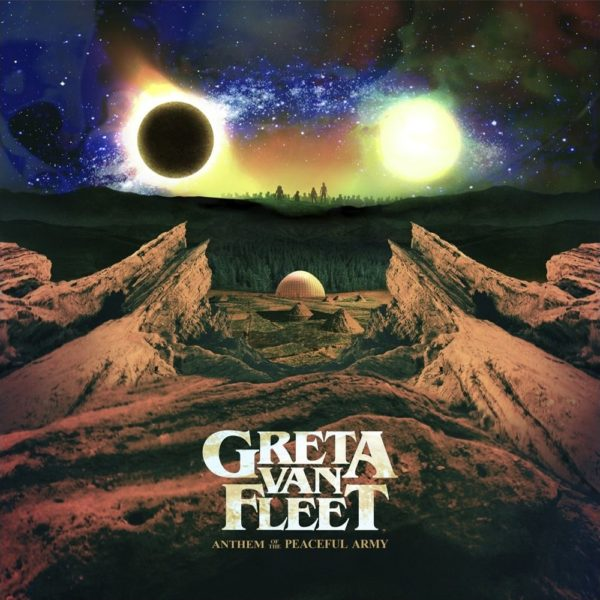 Bild: Greta Van Fleet - Anthem Of The Peaceful Army (Artwork)