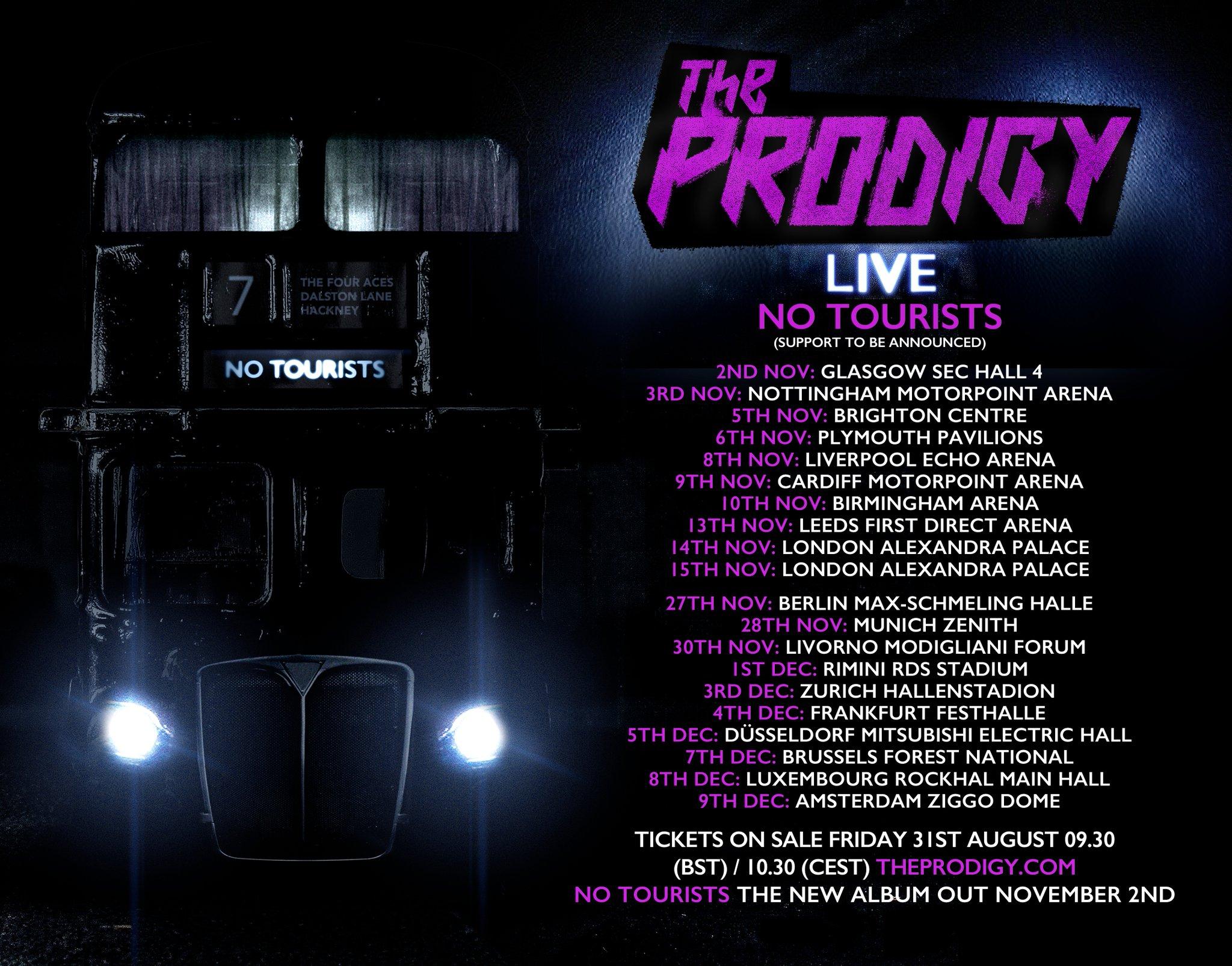 """The Prodigy - Live """"No Tourists"""" 2018"""