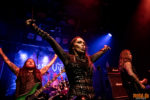 Konzertfoto von Crystal Viper - By Blood and Vengeance European Tour 2018