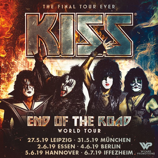 KISS - End of the Road Tour 2019