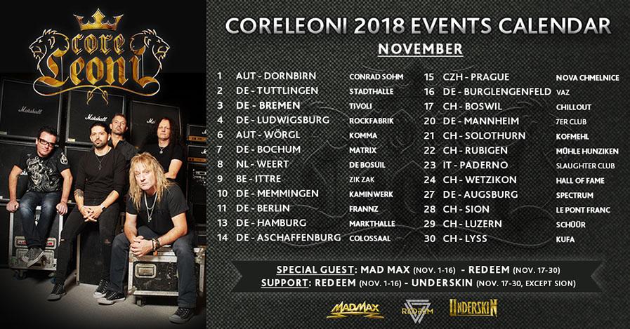 CoreLeoni - Tour 2018