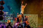 Fotos von Kissin' Dynamite auf der Wolfsnächte Tour 2018