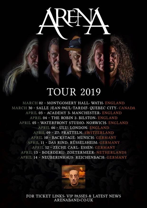 ARENA - Tour 2019