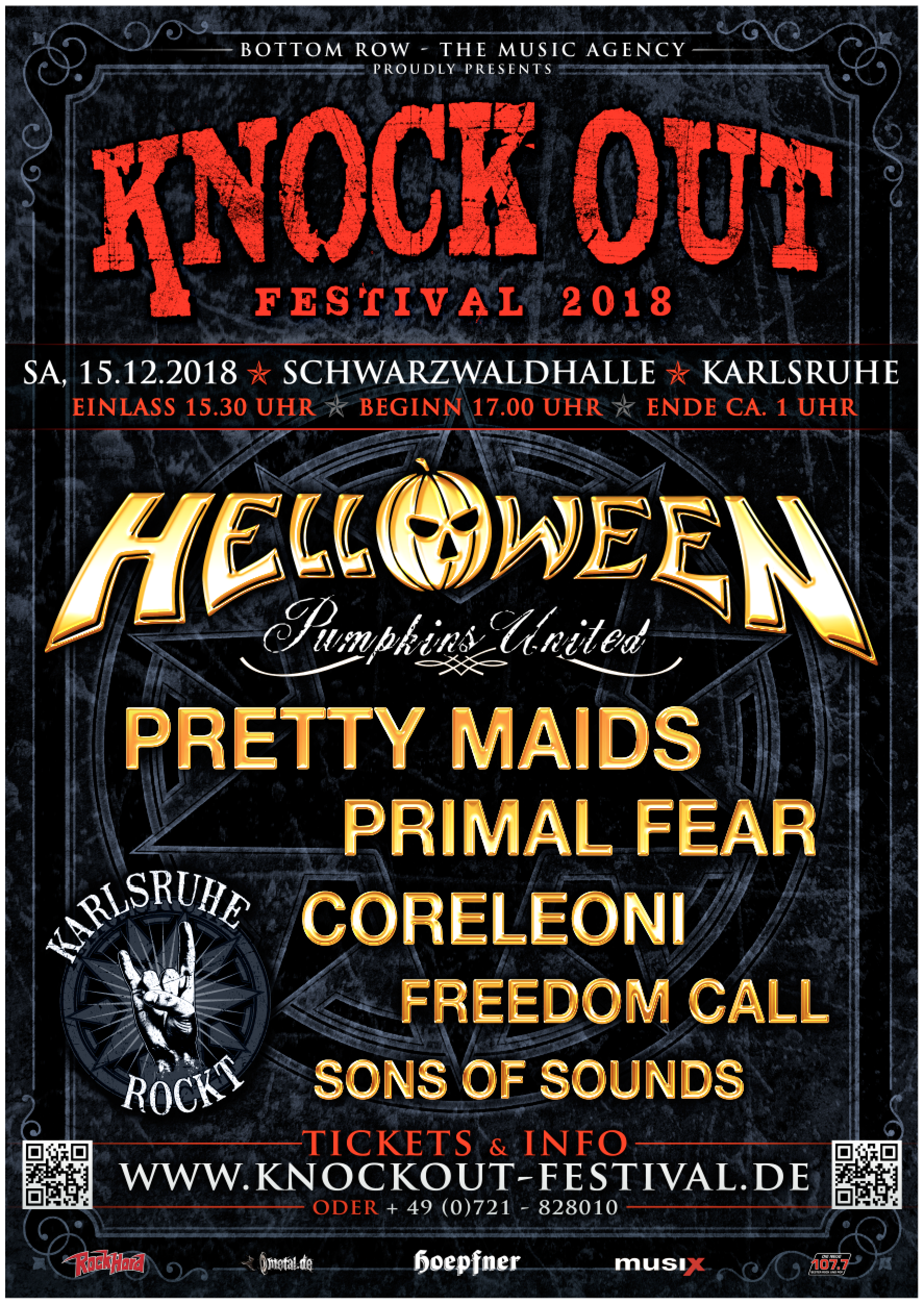 Poster - Knock Out Festival 2018