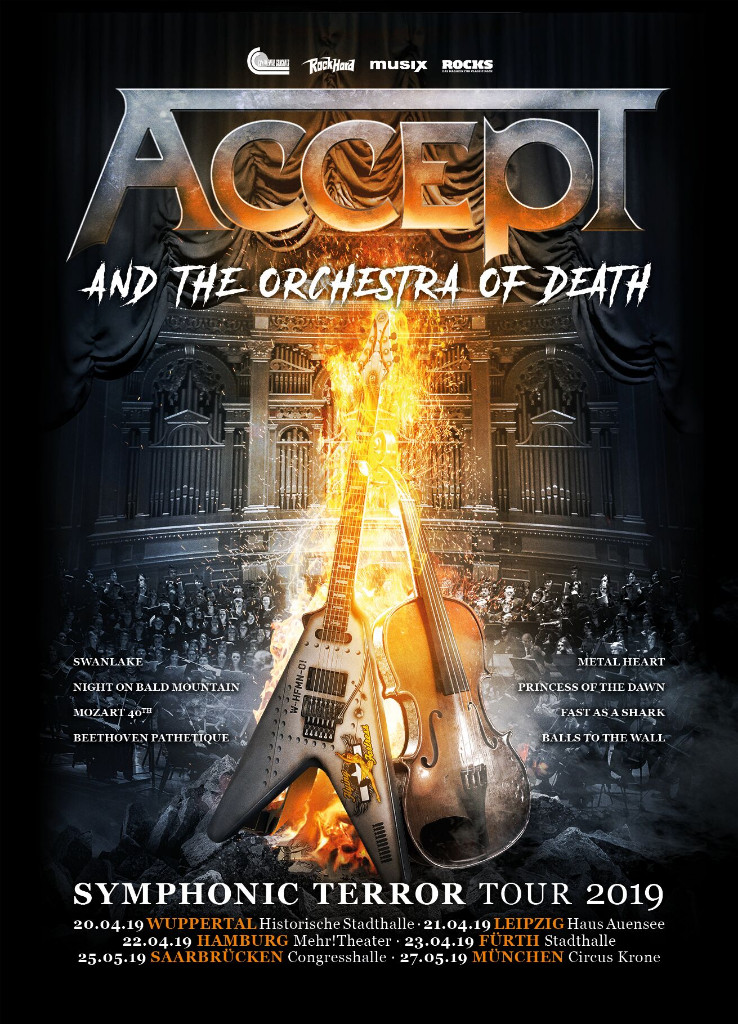 Accept & The Orchestra Of Death