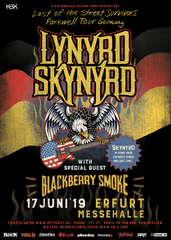 Lynyrd Skynyrd Tour