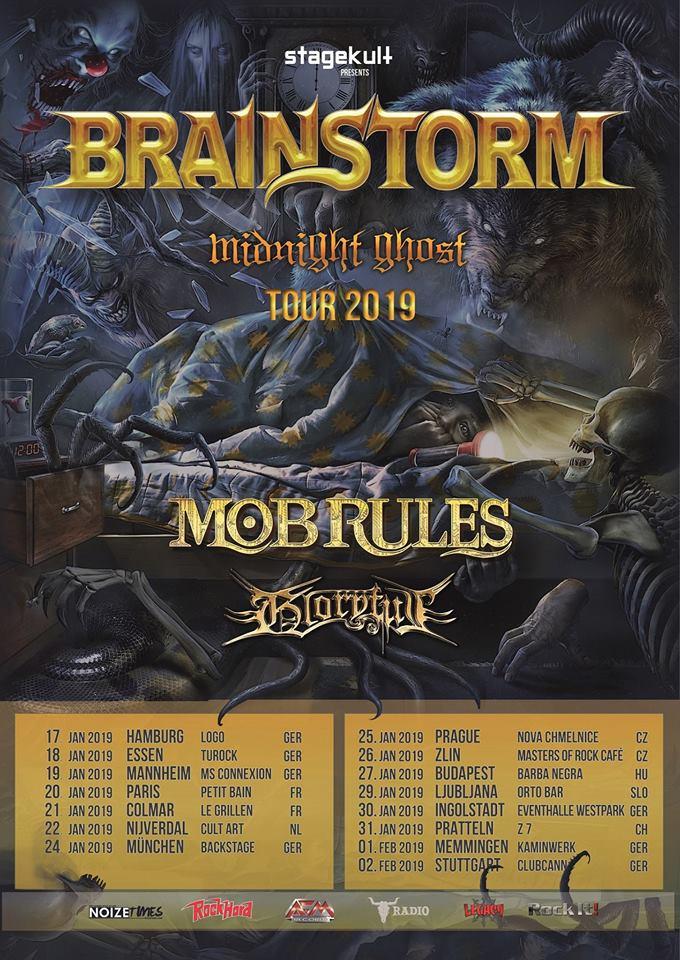 Brainstorm – Midnight Ghost Tour 2019