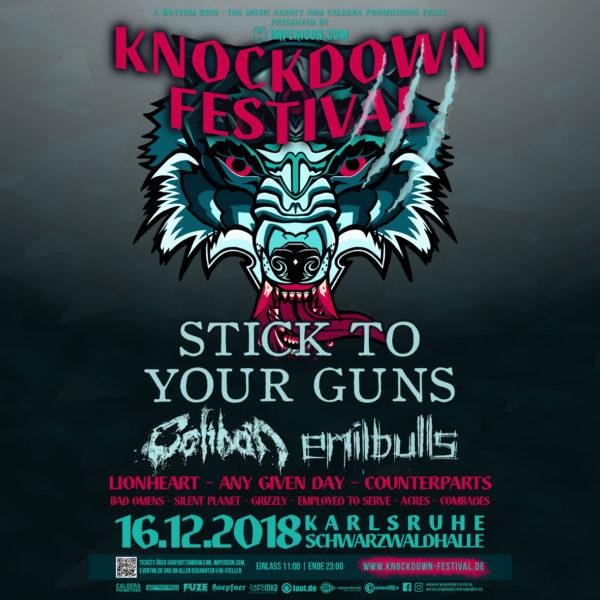 Bild Knockdown Festival Poster 2018