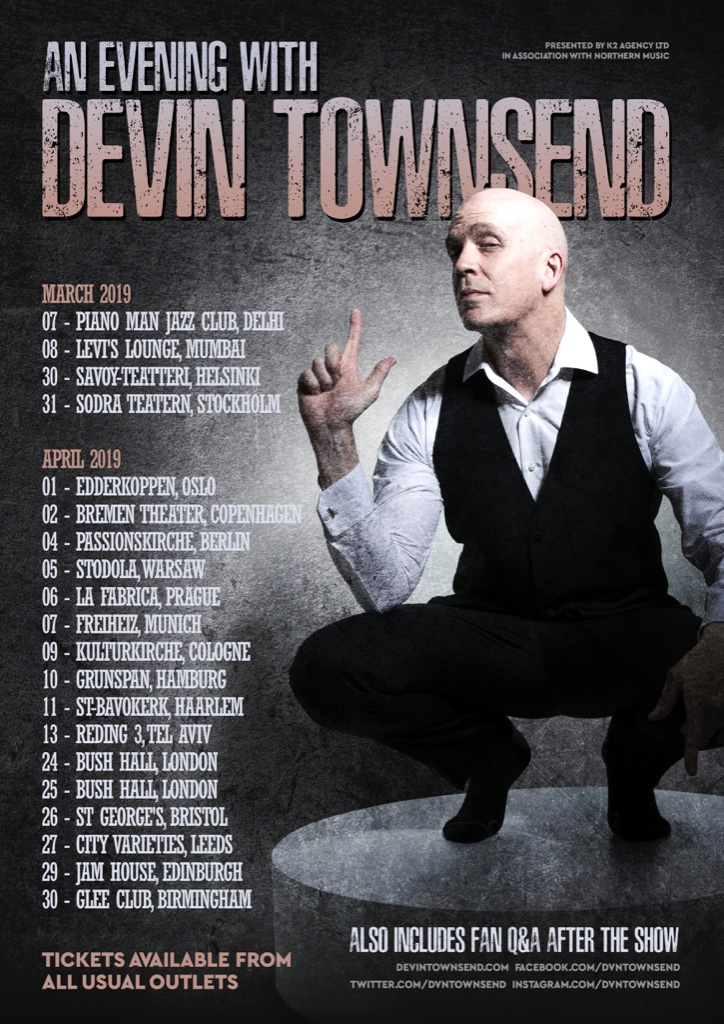 An Evening with Devin Townsend 2019