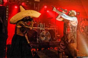 Konzertfotos von Ost+Front auf dem Wolfsfest 2018 Mannheim