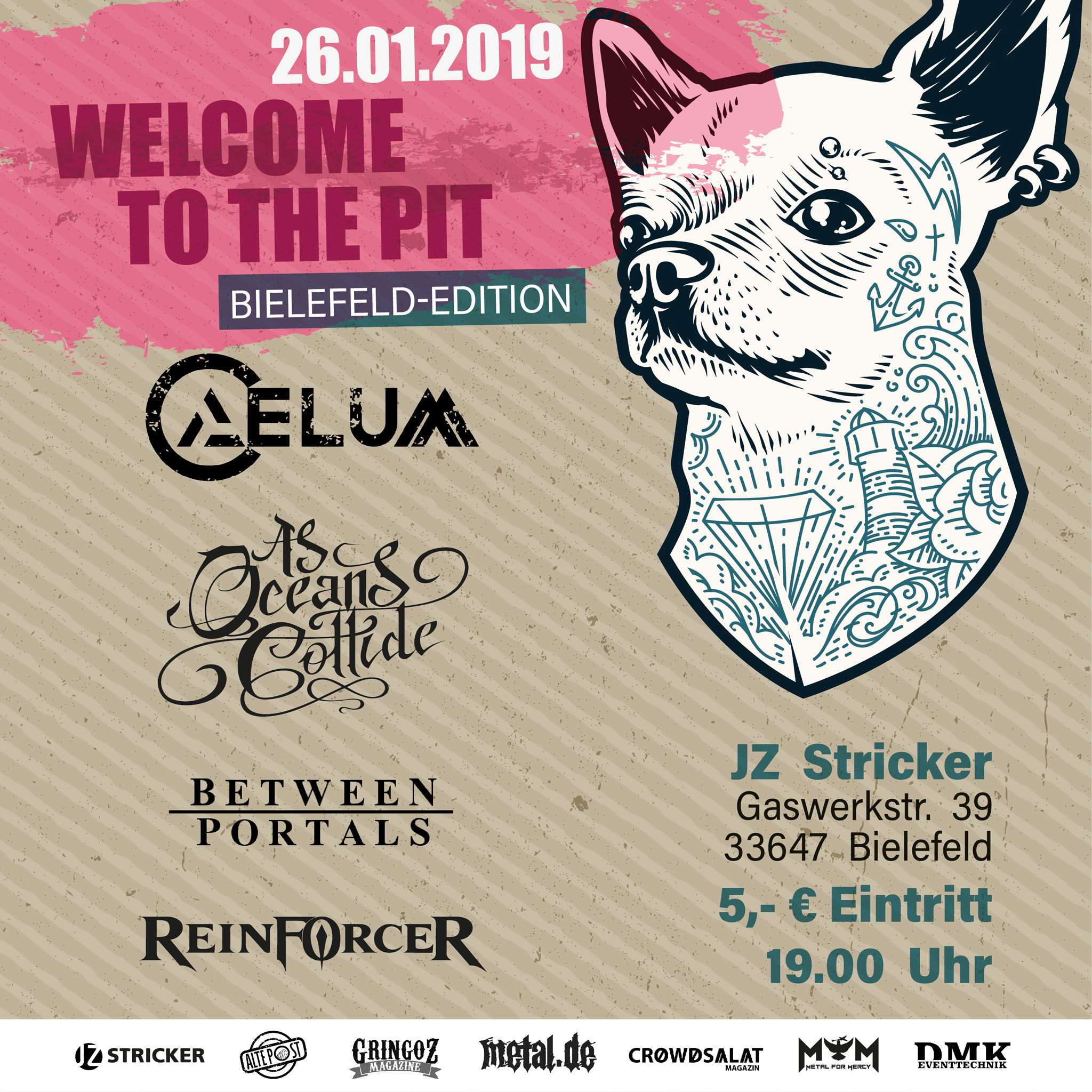 Welcome To The Pit Bielefeld Edition