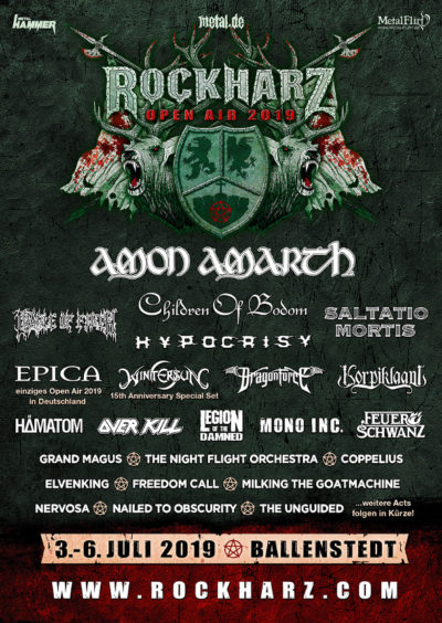 RockHarz Open Air 2019 Plakat