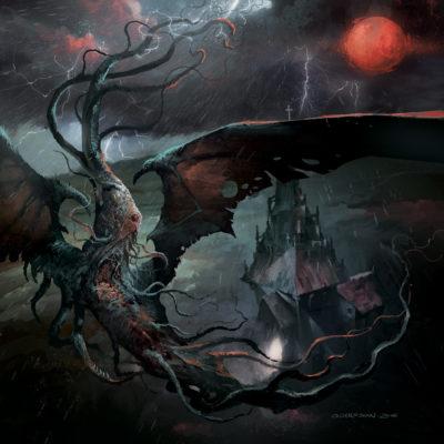 Albumcover Sulphur Aeon - The Scythe of Cosmic Chaos
