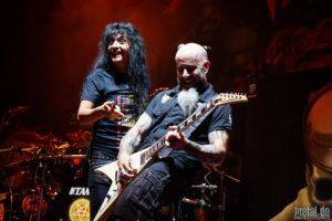 Konzertfoto von Anthrax - Slayer Final World Tour 2018