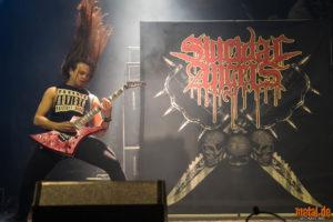 Konzertfoto von Suicidal Angels auf dem Ruhrpott Metal Meeting 2018