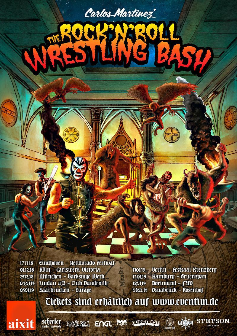 Carloz Martinez Rock 'N' Roll Wrestling Bash 2018/2019