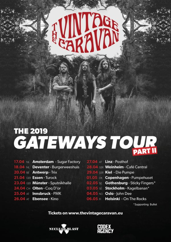 The Vintage Caravan - 2019 Gateways Tour II