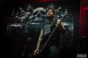 Konzertfotos von Hatebreed auf der European Apocalypse Tour 2018.