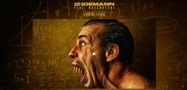 Lindemann - Screenshot Homepage