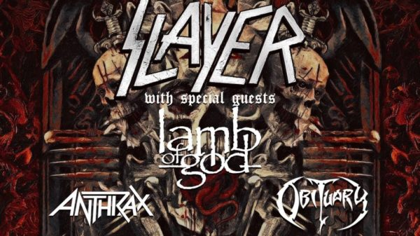 Tourplakat - Slayer - Final World Tour