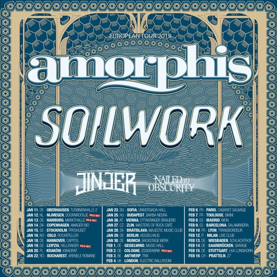 Amorphis/Soilwork Tourplakat