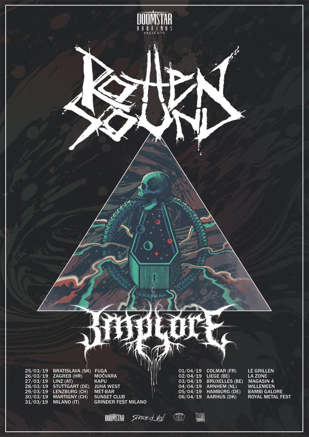 Rotten Sound - Europa Tour 2019