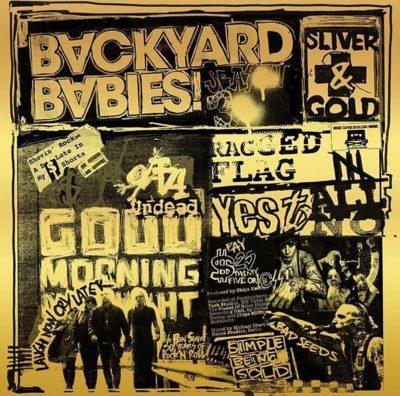 Cover Artwork Backyard Babies Silver & Gold Album 2019