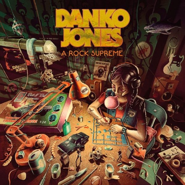 Cover Artwork Danko Jones A Rock Supreme Album 2019