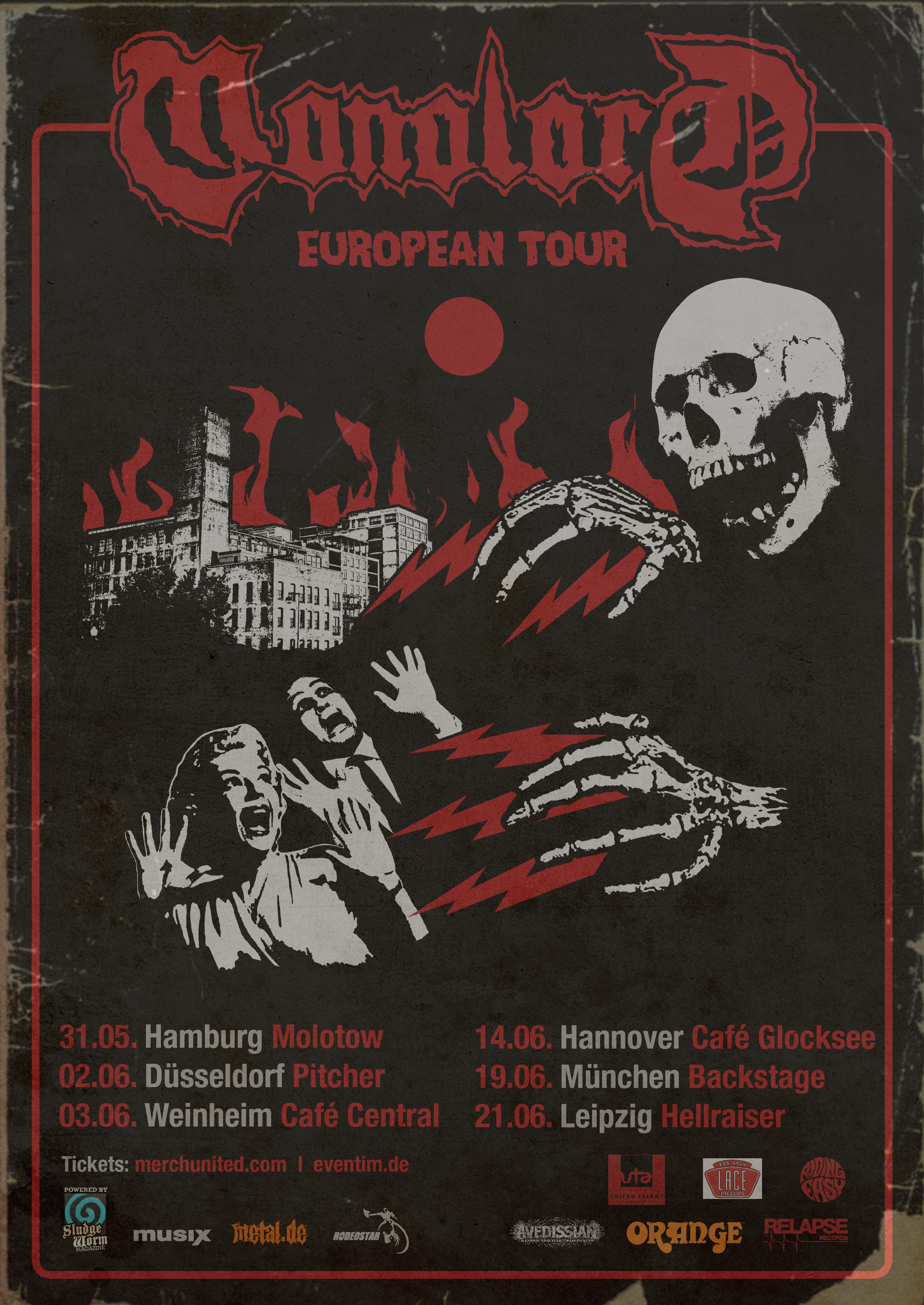 Monolord European Tour 2019