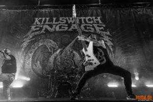 Konzertfoto von Killswitch Engage auf der Reverence EU/UK Tour 2019 in Frankfurt