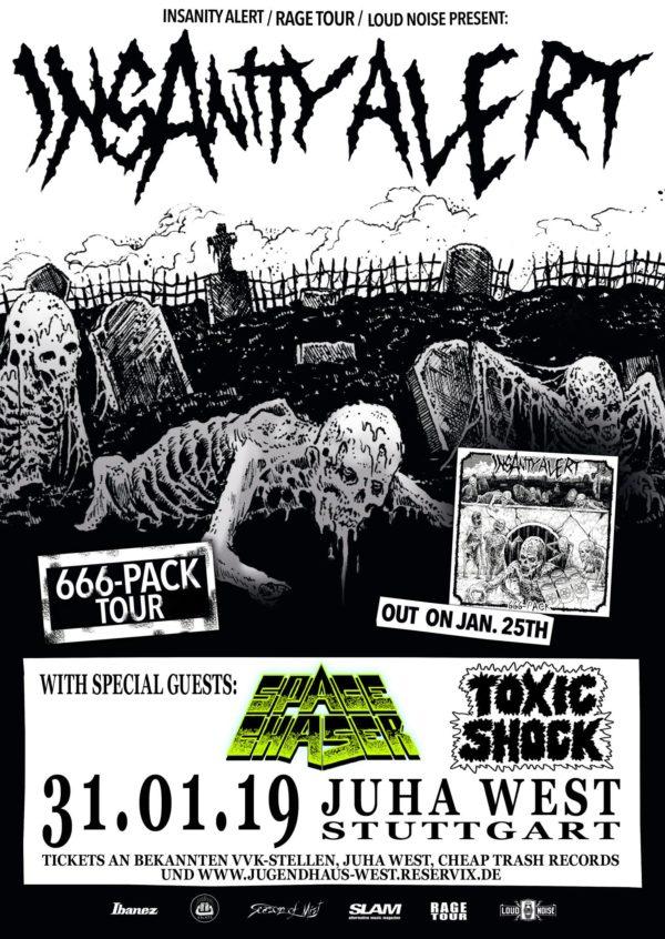 Insanity Alert Konzert Stuttgart
