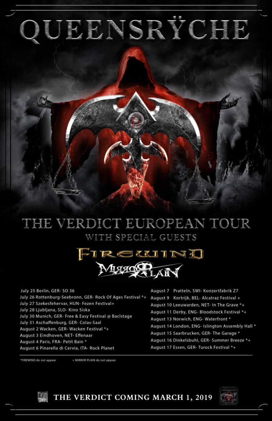 Queensryche - The Verdict Tour