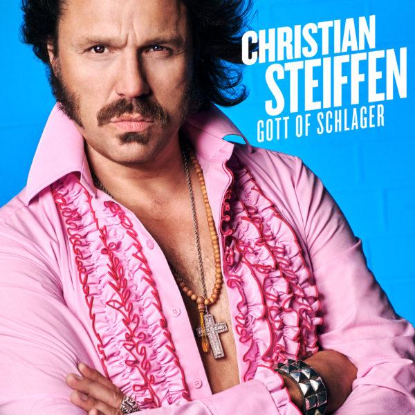 """Cover-Artwork zu """"Gott of Schlager"""" von Christian Steiffen"""