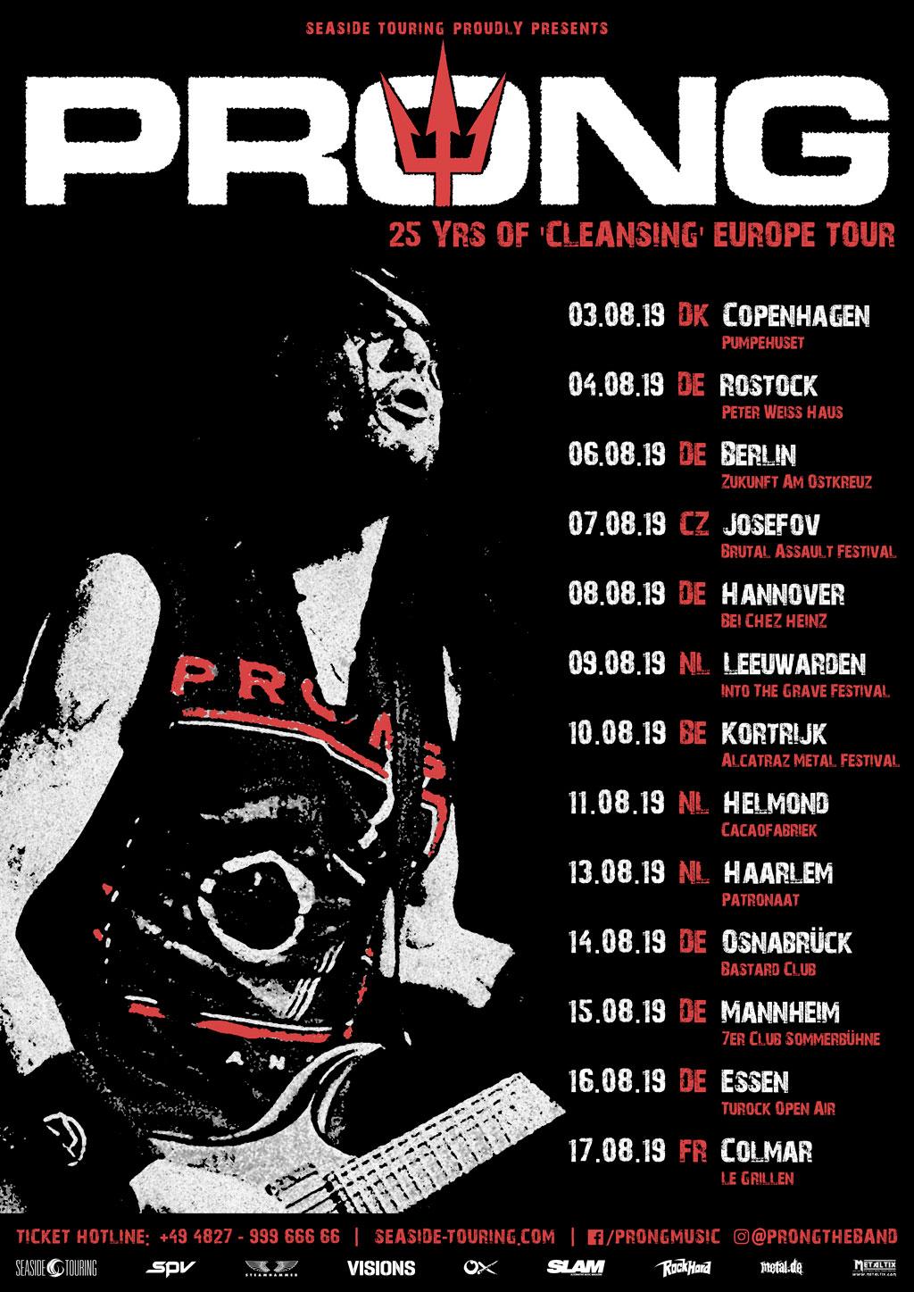 Prong Tour 2019