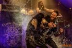 Konzertfotos von Chrome Divison auf der One Last Ride Tour in Mannheim