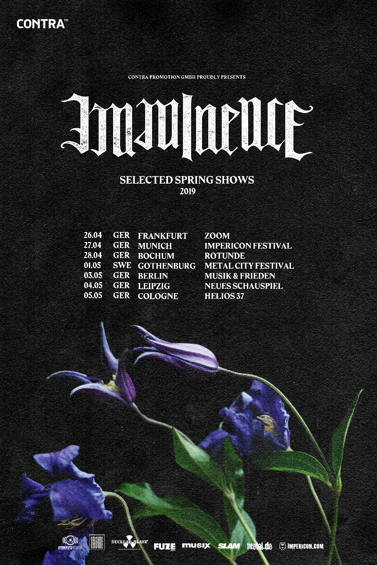 Imminence -Selected-spring-shows 2019