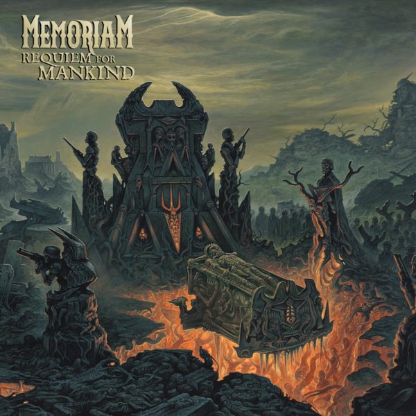 Cover-Artwork - Memoriam - Requiem For Mankind